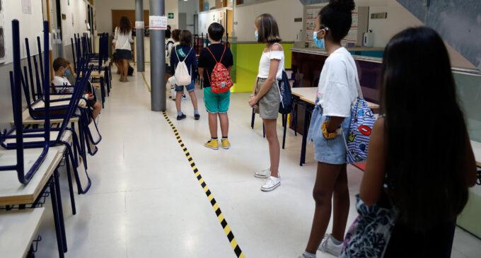 El 97,9% de los grupos de alumnos de los centros educativos concluye sin incidencias la semana del 25 al 29 de enero