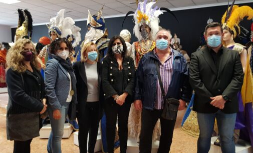 13 empresas de artesanía festera de Villena optan a recibir hasta 7.000 € de ayuda de la Generalitat