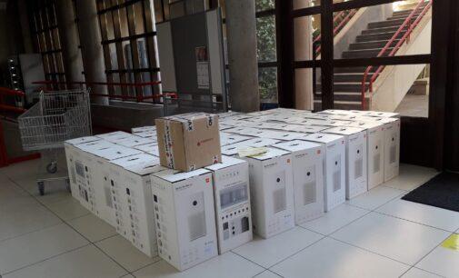 Educación reparte 62 filtros Hepa y 59 medidores más de CO² en los centros educativos de Villena
