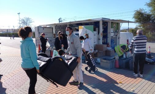 Villena es la población donde más residuos se han recogido en el ecoparque móvil de todo el Consorcio