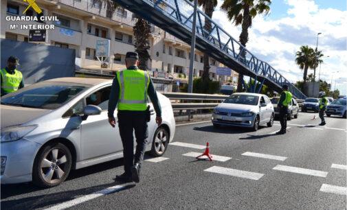 39 conductores de la provincia de Alicante pasan a disposición judicial