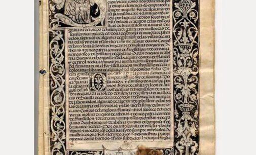 Villena celebra su título de Ciudad hoy hace 496 años