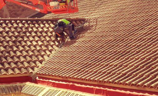 Villena repara las goteras del Teatro Chapí