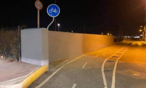 ADIF repara parte del muro de la calle Juan Gris