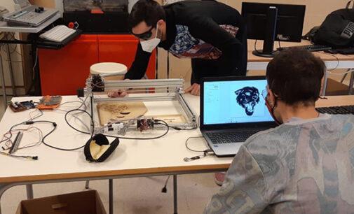 El láser 3D: una apuesta de futuro del IES Navarro Santafé
