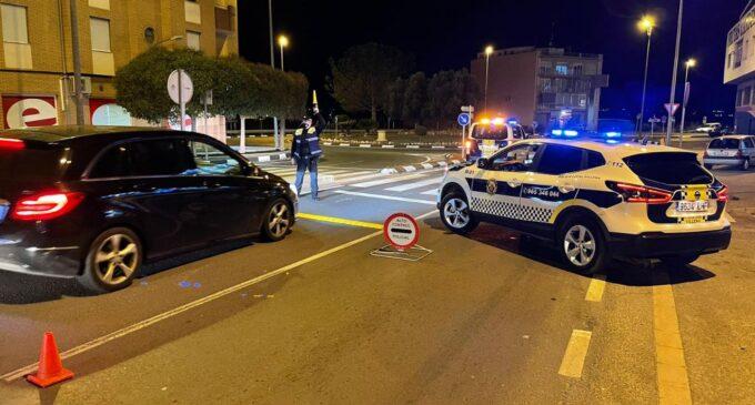 La Policía Local de Villena participa en una campaña de control del uso del cinturón