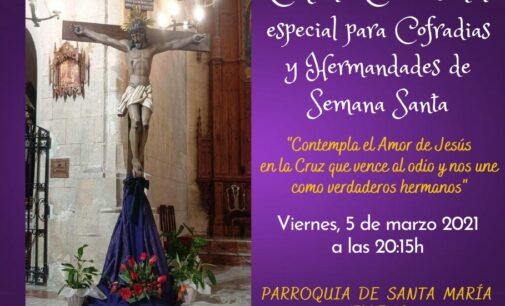 La Junta Mayor de Cofradías de Semana Santa de Villena organiza una charla