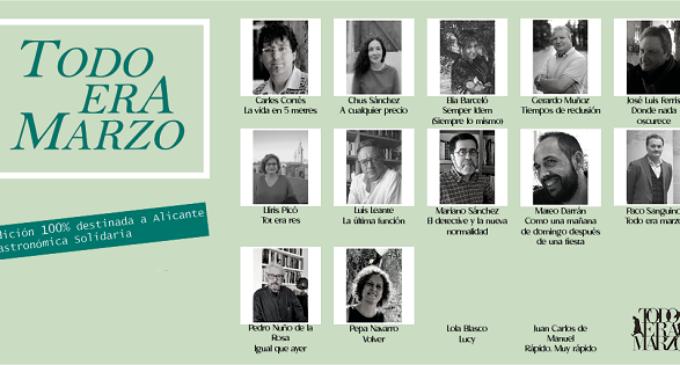 """El libro """"Todo era Marzo y otros relatos"""" se presenta el 25 de marzo en la Casa de Cultura de Villena"""
