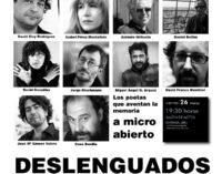 Recital de poesía contemporánea española en la Casa de la Cultura de Villena