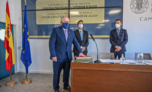Pablo Andrés Bernabeu Soler toma posesión de su cargo como director de la Escuela Politécnica Superior de Alcoy