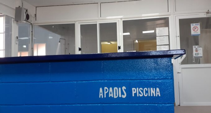 APADIS Piscina reanuda la actividad