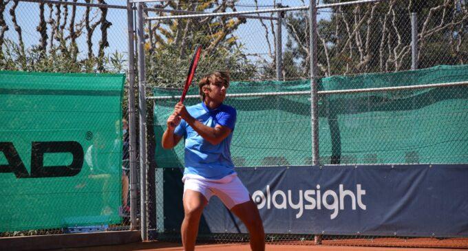 Mérida es el único representante español en octavos del ITF J1 Villena