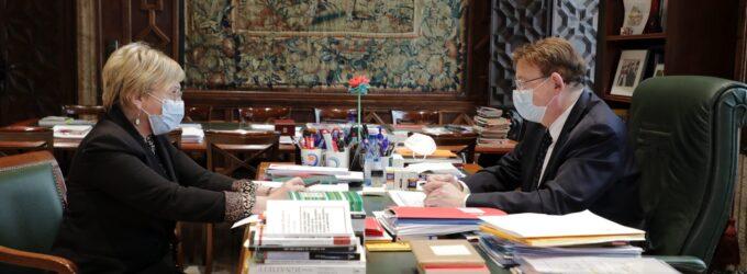 Ximo Puig anuncia que podrán realizarse reuniones de dos núcleos de convivencia en las casas