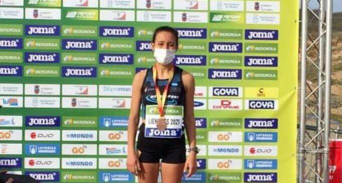 Laura Domene consigue la medalla de bronce en el Campeonato de España