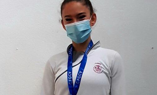Sara Navarro, consigue la plata en el campeonato provincial de Gimnasia Rítmica