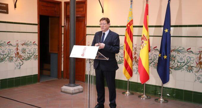 Ximo Puig anuncia que la vacunación de las personas mayores de 30 años se iniciará en el mes de julio