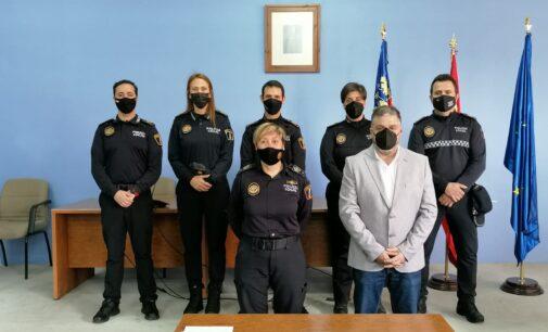 Villena incorpora cinco nuevos agentes de la Policía Local