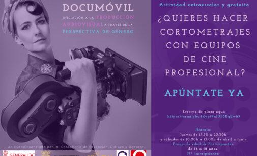 Documóvil oferta las últimas plazas para el curso de introducción a la realización de cine para jóvenes de 14 a 18 años