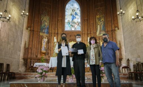 Donan 600 € a Los Amigos de Santa María para la restauración del templo