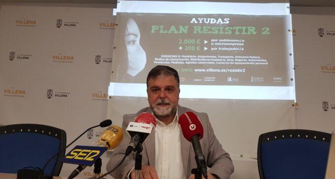Villena pone en marcha el Plan Resistir 2 dotado con 400.000 € en ayudas