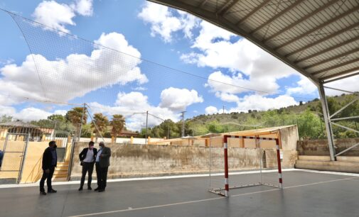 La Diputación invierte en Cañada cerca de un millón en ayudas sociales, deportivas, culturales e hídricas