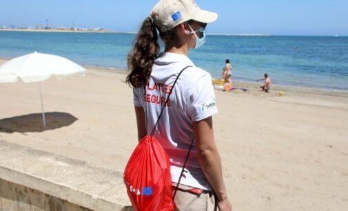 La Generalitat contratará a 1000 auxiliares de playa