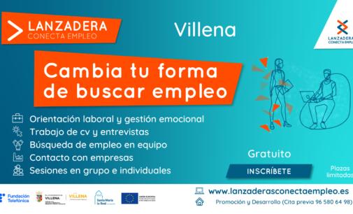 Villena contará a partir de julio con una nueva Lanzadera Conecta Empleo