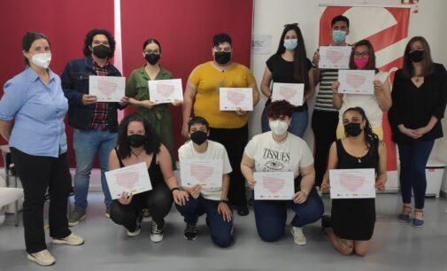 Juventud clausura el curso de 'Higiene y Atención socio-sanitaria a Personas Dependientes'