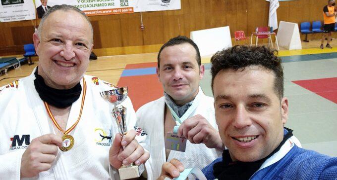 El judoca Francisco Beltrán sube al podio en el Campeonato Técnica de Oro
