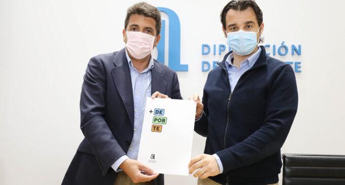 La Diputación invierte 10 millones de euros en la mejora de las instalaciones deportivas de los municipios con el Plan+Deporte