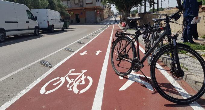 Plantean un nuevo ramal de carril bici en el Prado de la Villa