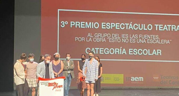 """El IES Las Fuentes, terceros en los premios de teatro """"Buero"""""""