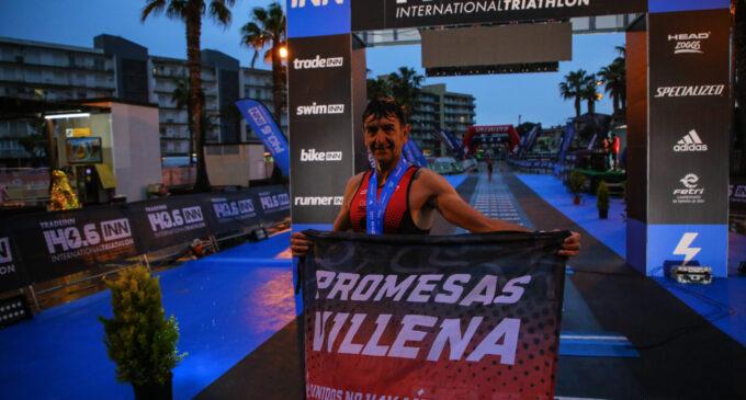 José Pedro Serrano del Triatlón Promesas, en el campeonato de España LD, Tradeinn 140.6 INN