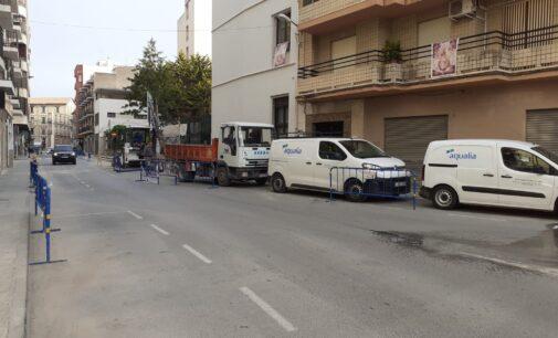 Comienza la construcción de una Estación de Bombeo en la calle Férriz
