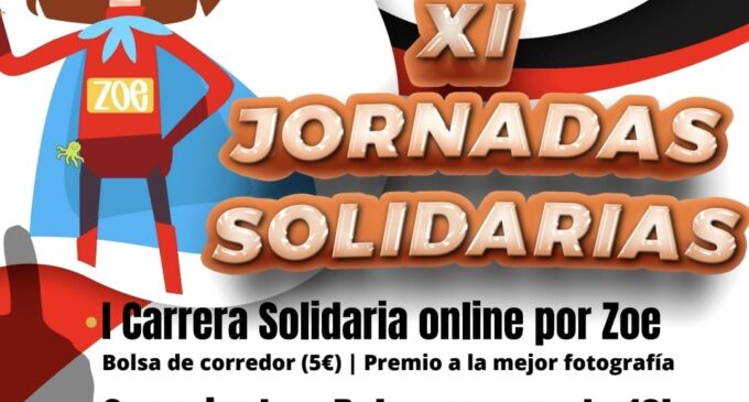 Ayuntamiento y la FDM colaboran con la 'I Carrera Solidaria Online por Zoe' de la Comparsa de Piratas