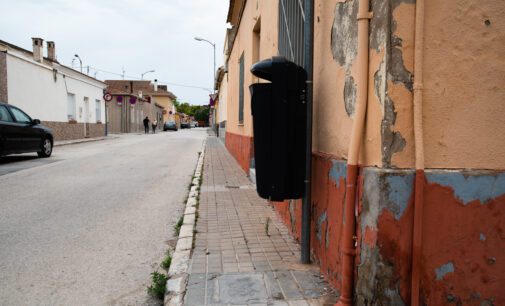 IU denuncia el mal estado de las calles en Villena