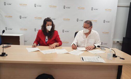 Cultura firma el primer convenio de cooperación con la Orquesta Sinfónica de Villena