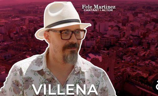 """El actor Fele Martínez dará a conocer a Villena en el programa de À Punt """"El meu lloc al món"""""""