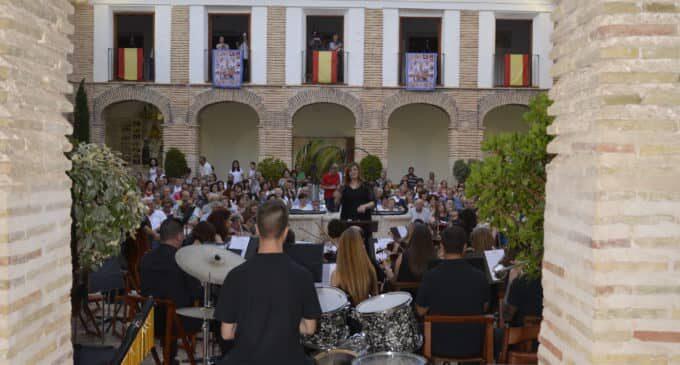 La Sociedad Musical Ruperto Chapí celebra su festival de fin de curso en el santuario
