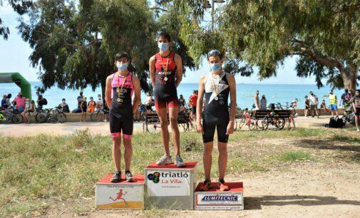 David Blanes del Triatlón Promesas, ganador del III Triatlón Escolar de La Vila Joiosa