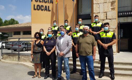 Villena incorpora nueve Policías Locales
