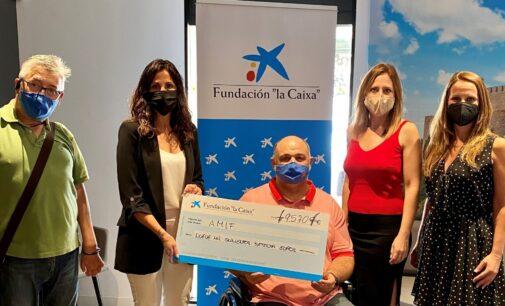 """El grupo de apoyo a personas con párkinson continuará en AMIF con ayuda de la Fundación """"la Caixa"""" y CaixaBank"""