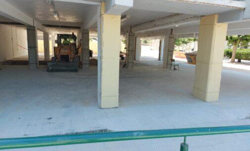 Se inician las obras de mejora del colegio de Biar