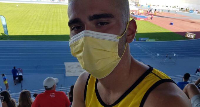 Miguel Pérez, décimo puesto en los 100 ml en el Campeonato de España sub-18