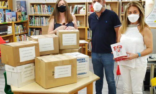 Bibliotecas Municipales donan 900 libros a la Asociación 'Latiendo Juntos'