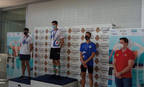 Álvaro Suárez consigue dos medallas para el Club Natación Villena en el Autonómico Infantil