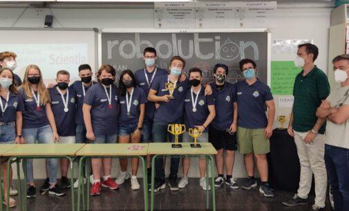 La UA reconoce el trabajo del equipo Roboluti_ON del IES Hermanos Amorós