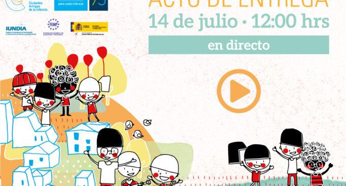 Unicef entrega mañana el título oficial de Ciudad Amiga de la Infancia a Villena