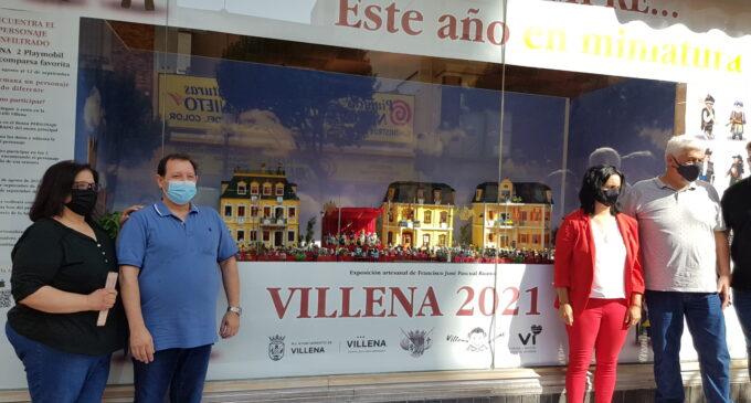 Más de 200 playmobil recrean las fiestas de Moros y Cristianos de Villena