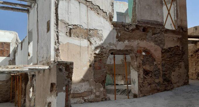 Nuevos hallazgos en la muralla medieval de Biar